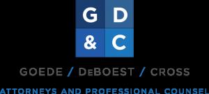 Goede, DeBoest & Cross logo.