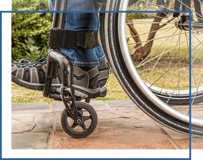 Individual Wheelchair bound after an accident | Premises Liability and Injury Claims Lawyer GADC Law