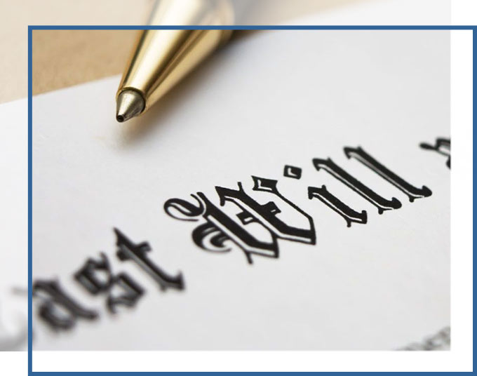 Last Will & Testament with Pen | Wills & Trusts Lawyer GADC Law